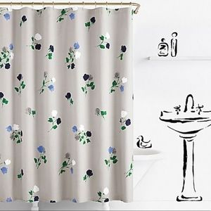 """KATE ♠️ NY WILLOW COURT 72"""" SHOWER CURTAIN"""